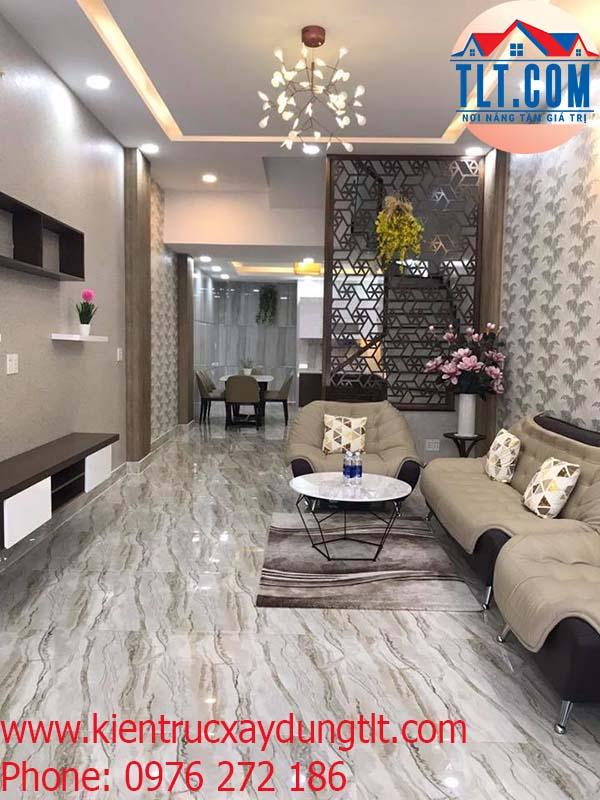 Xây nhà mới nhà anh Hiếu- Quận Gò Vấp