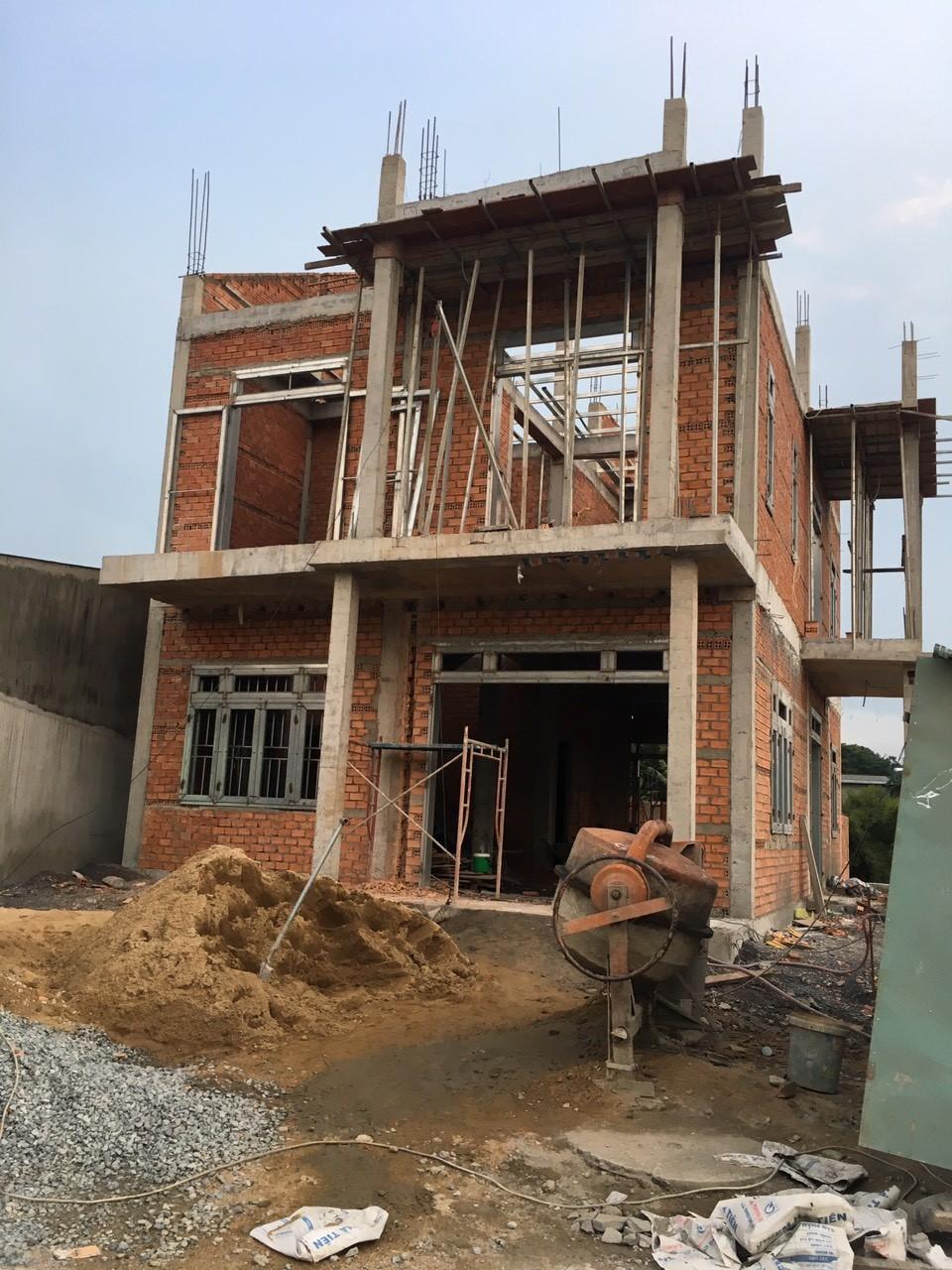 Báo giá xây nhà phần thô