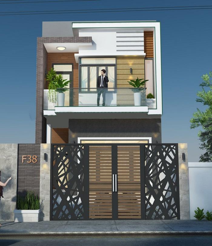 Xây nhà 1 trệt 1 lầu giá rẻ tại TPHCM- Đồng Nai-Bình Dương