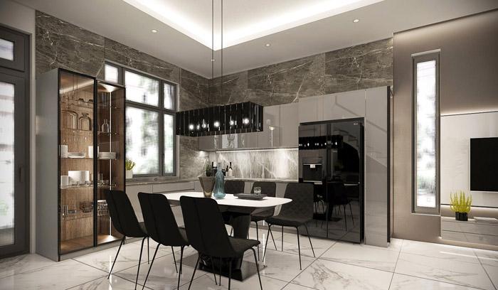 Mẫu thiết kế nội thất ấn tượng và sang trọng xu hướng 2021