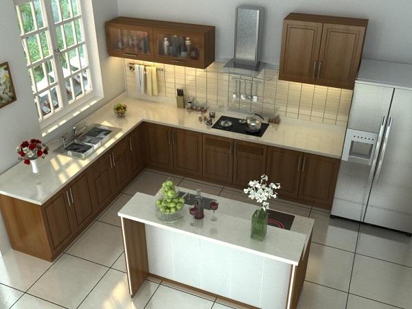 Thiết kế nhà bếp đơn giản và tiết kiệm chi phí