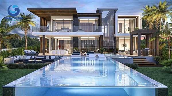 15 mẫu biệt thự có hồ bơi phong cách hiện đại