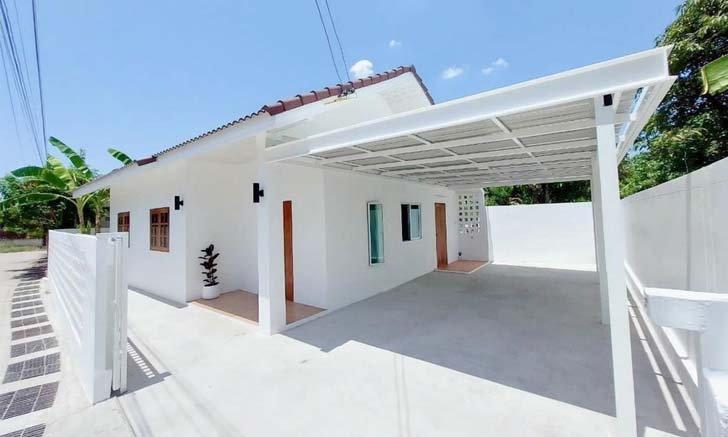Cải tạo nhà theo phong cách hiện đại 2 phòng ngủ 2 nhà vệ sinh