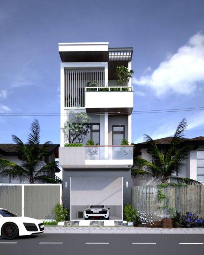Chi phí xây nhà phố 3 tầng 60m2 năm 2021